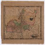 Cushing and Walling Providence map, 1849