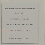 Opinions of the Supreme Court of the State of Rhode Island to the House of Representative, 1953