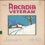 Civilian Conservation Corps (CCC) Arcadia Veteran bulletins, 1939-1940