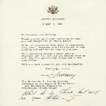 Governor J. Joseph Garrahy correspondence, 1970-1985