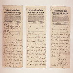 Abraham Lincoln telegram to William Sprague